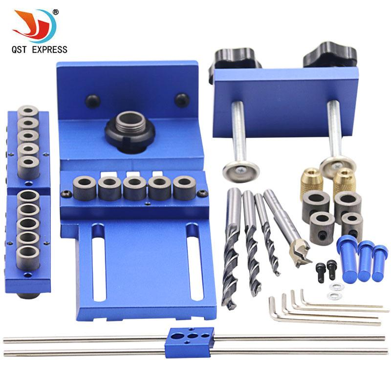2018 Woodworking Tool Set Log Tenon Hole Punch Combo Triple Punch