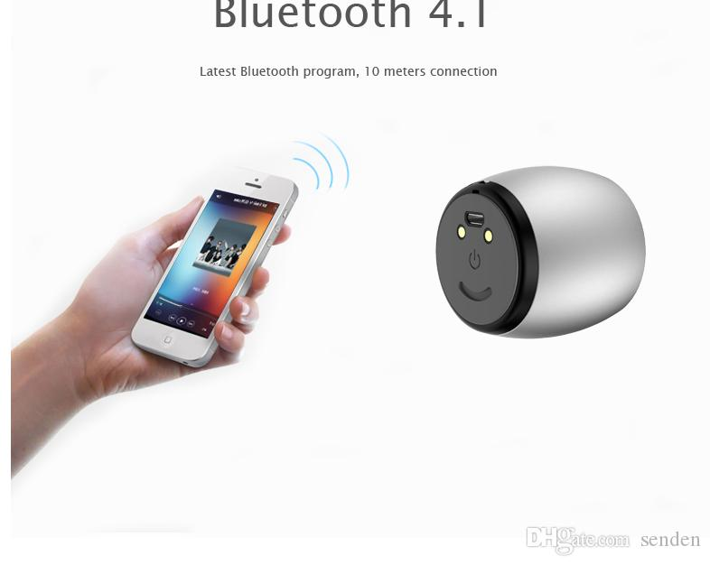 Sardine F1 Metal Subwoofer TWS System column Bluetooth Speakers with dock charger For iPhone Computer Ultra mini Portable twins Loudspeaker