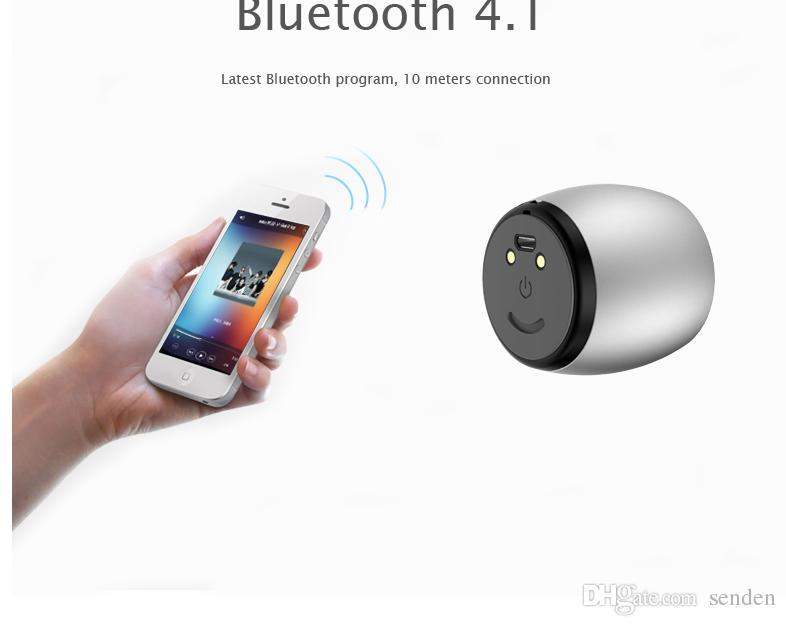 TWS De Alumínio Alto-falantes Bluetooth Sardinha F1 Subwoofer Coluna De Metal baixo Altifalante dock de carregamento Para o iPhone mãos-livres Mic Portátil Altifalante
