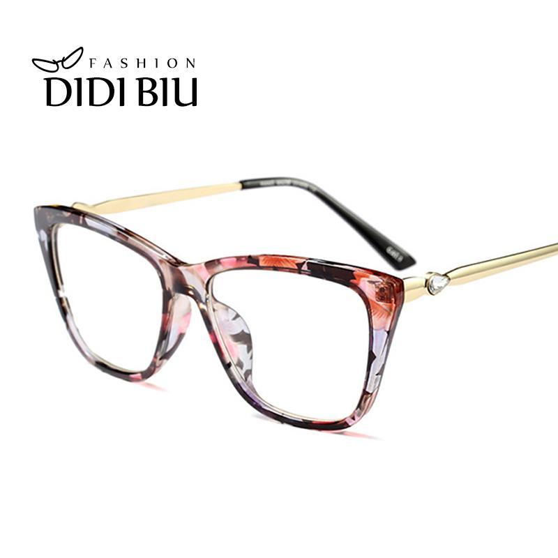 7d88751e7c Vintage Cat Eye Clear Glasses Ultra Light Transparent Optical Myopia Eyewear  Frame Women Trend Decoration Eyeglass Oculos UN1138 UK 2019 From Mantous