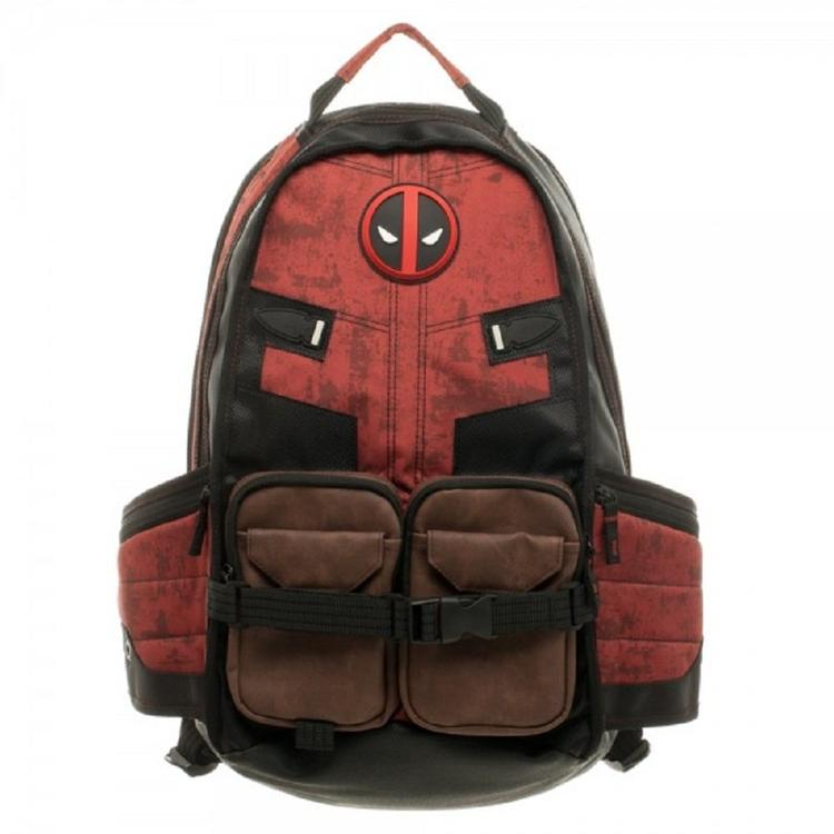 3abeba34a4 Marvel Deadpool Laptop Backpack Good Quality Unisex School Bags Travel Bag  Cosplay Backpacks Black Leather Backpack Backpacks For School From  Feetlove