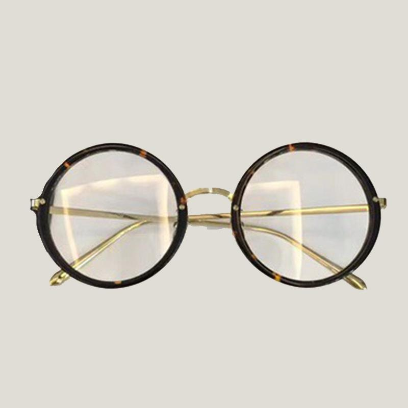 aa22c4461 2019 Round Eye Glasses Frame For Women Acetate Material Female 2018 Eyewear  Accessories Retro Fashion Myopia Optical Frames From Milknew, $74.2 |  DHgate.Com