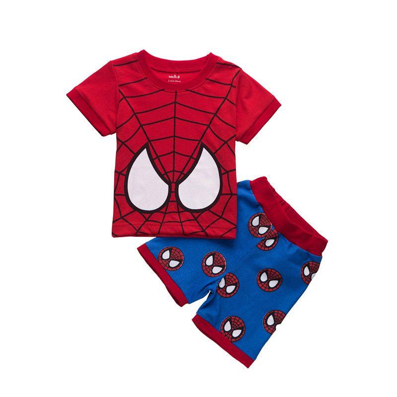 e9864510b3f5 Summer 2018 Children S Pajamas Sets Cotton Baby Girls Short Sleeved ...