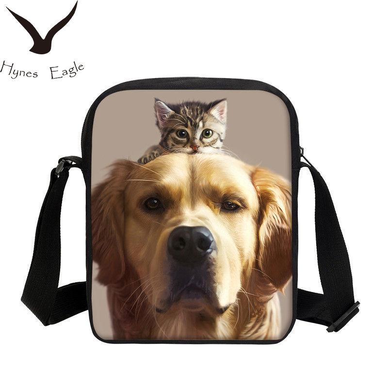 af32c7cb21 Hynes Eagle Brand Flap For Men Women Animal Printing 3D Messenger Bag  Single Shoulder Bag Casual Sling Fashion Crossbody Luxury Bags Cross Body  Bags From ...