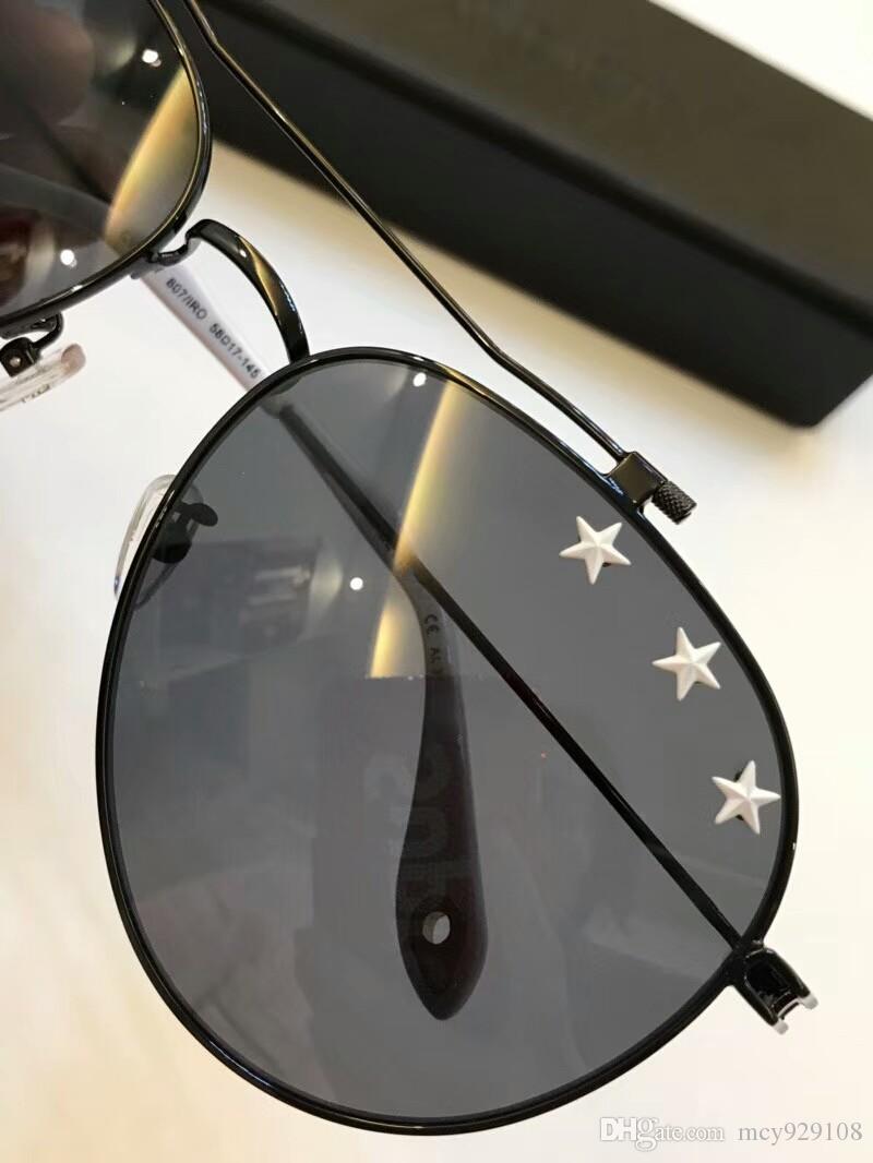 7057 nueva moda de los hombres gafas de sol de las gafas de sol para hombre simples mujeres populares gafas de sol al aire libre de la protección de verano UV400 gafas al por mayor con el caso
