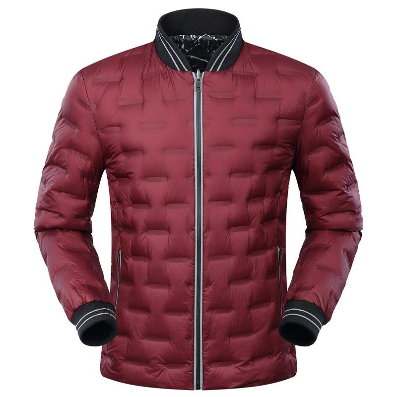 Xl Two Sides Wear Thin Winter Jacket Men 2017 Plus Size Mens Down Jackets 90 White Duck Down Jacket Mens Parkas Coat Yr030 From Vanilla03