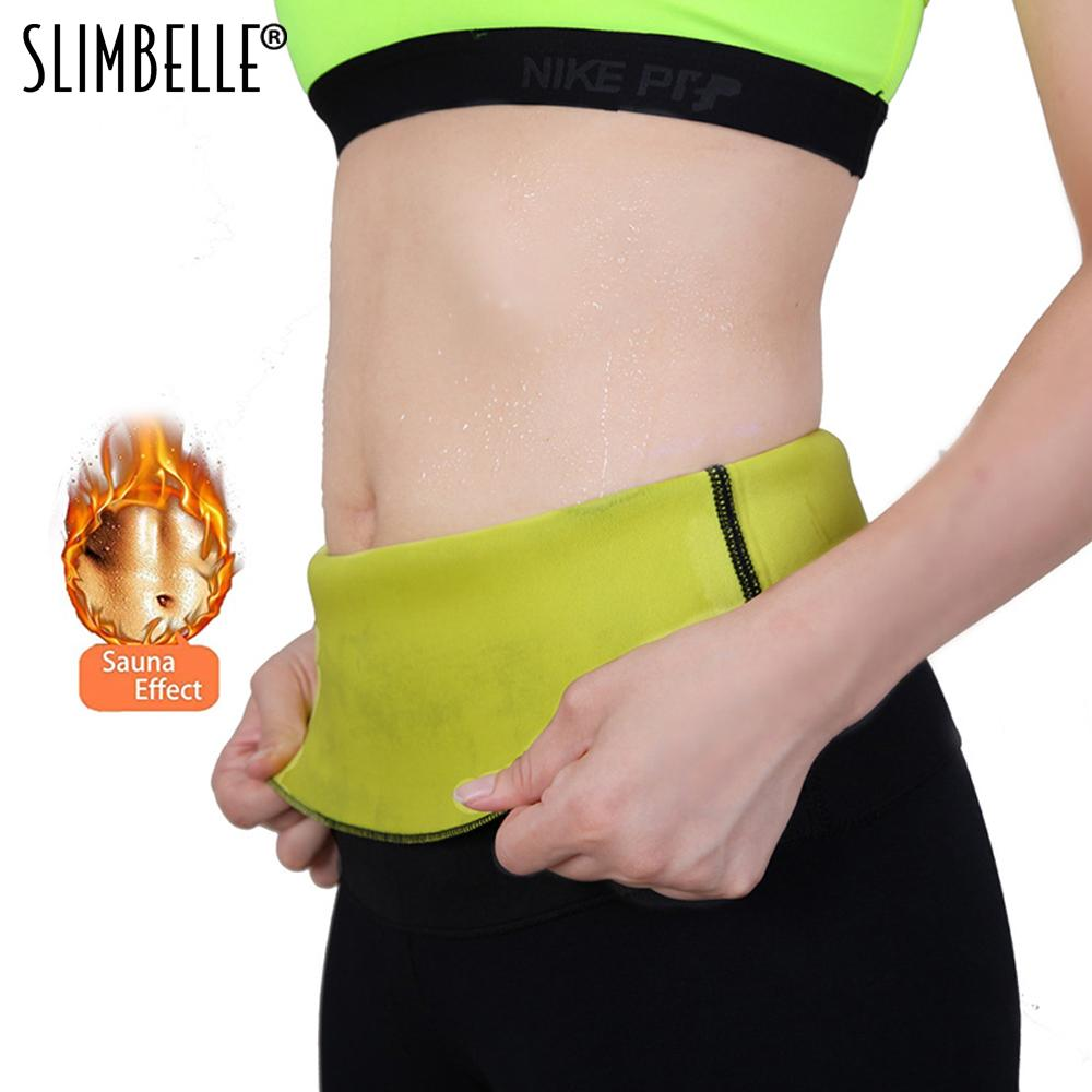 f8b14213ee10e 2019 Neoprene Hot Shapers Waist Trainer Belt Sweat Body Shaper Belly  Control Slimming Waist Belt Fitness Compression For Weight Loss From  Beltloop