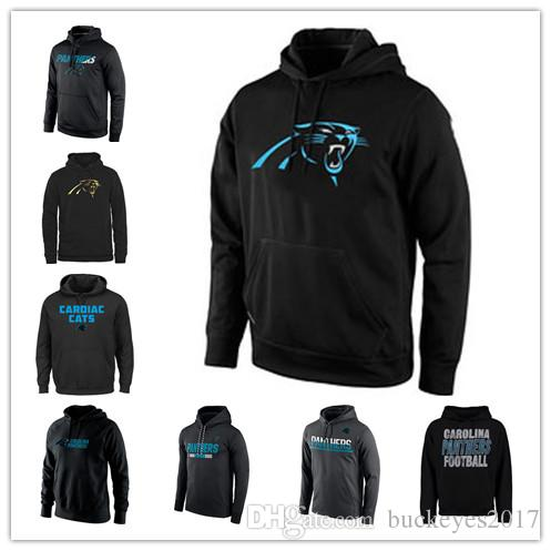 sale retailer 66927 9d2d0 Carolina Panthers Sideline Circuit Practice Performance Sweatshirt Pro Line  Black Gold Collection Pullover Printing Hoodies Free Shipping