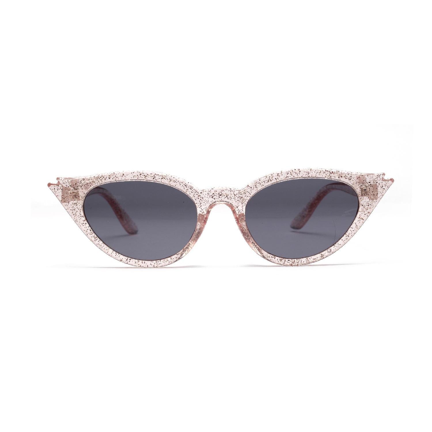 a0a276304167 MINCL  Candy Colors Women Cat Sunglasses Fashion Men Glitter Transparent  Red Yellow Green Purple Glasses UV400 NX Canada 2019 From Redjune