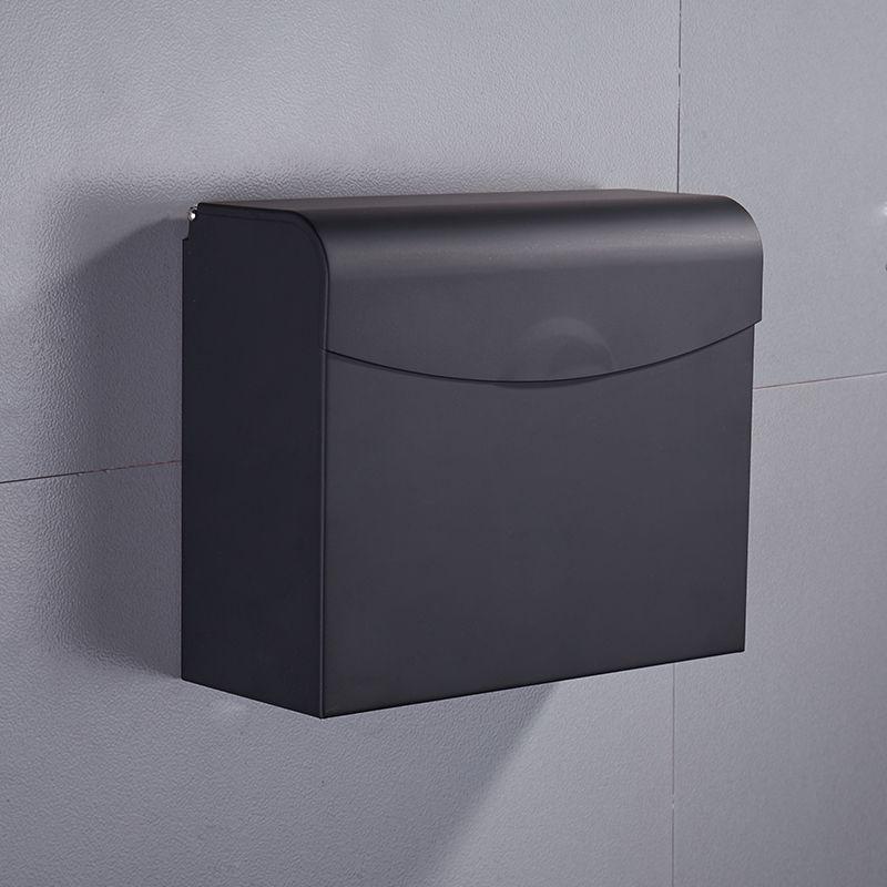 Черная бумага Tissue Box ванной рулонной бумаги Держатель настенный туалетной бумаги стойку Аксессуары для ванной комнаты держатель ткани Box