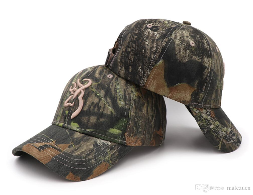 62f2b7f0cfa33 Hot Sale New Men s Browning Mossy OAK Camo Caps Baseball Cap Fishing Caps  Outdoor Hiking Hunting Camouflage Caps Snapbacks Camo Snapbacks Online with  ...