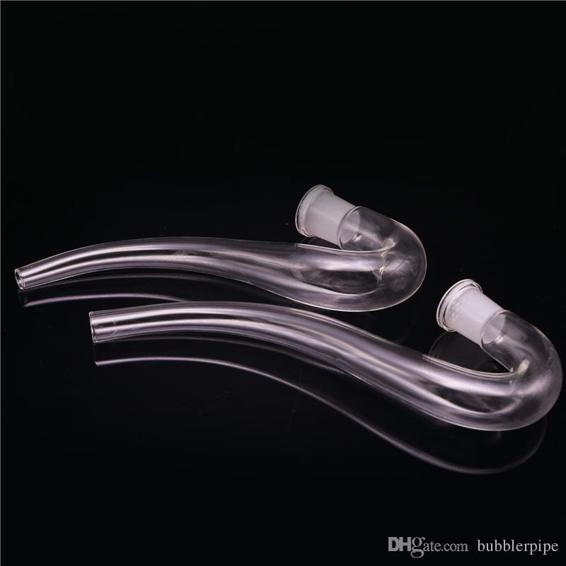 Glass Ashcater Reclaim Catcher J-Hook Adapter Glass Pipe 14mm 18mm Female joint for Glass Bubbler Ashcatcher Concentrate oil Rigs