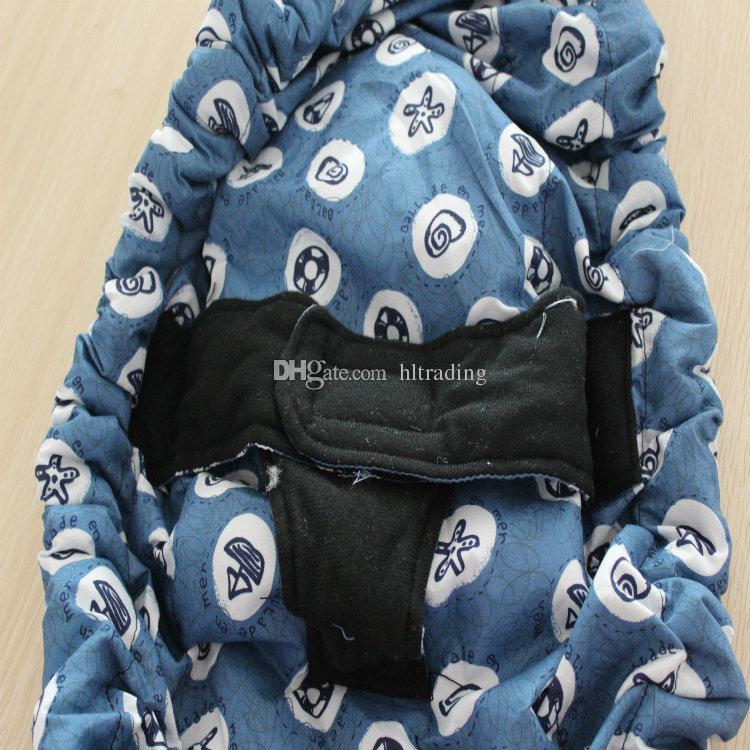 Hot sale Infant newborn Baby lattice carrier Sling wrap swaddling kids Nursing bag Pouch DHL shipping C709