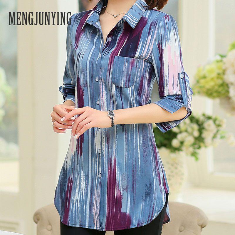 Frühling Arbeit Shirt Frauen plus Größe M-5XL Bluse Langarm Blusen Shirts Dot Blusas Femininas Womens Business Wear Tops DK3016
