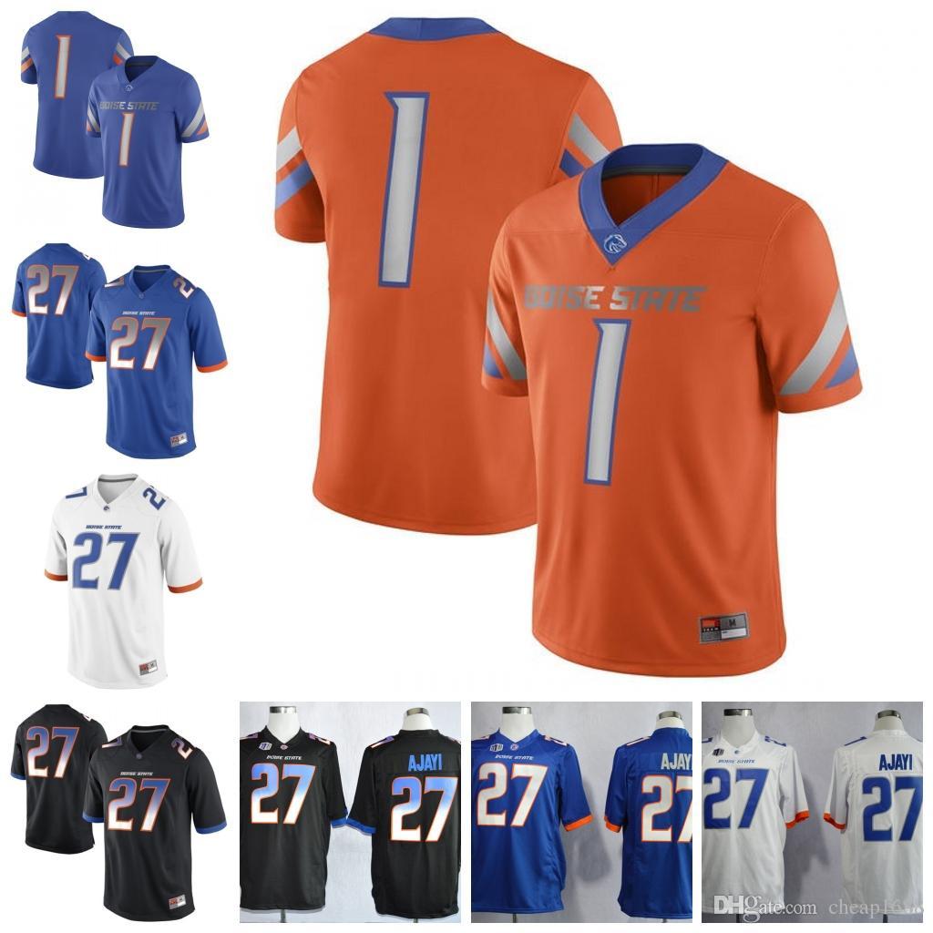 size 40 c787b 6090f NCAA Boise State Broncos #1 Cedrick Wilson Jr. 4 Brett Rypien 6 CT Thomas 8  Sean Modster Stitched College Football Jersey