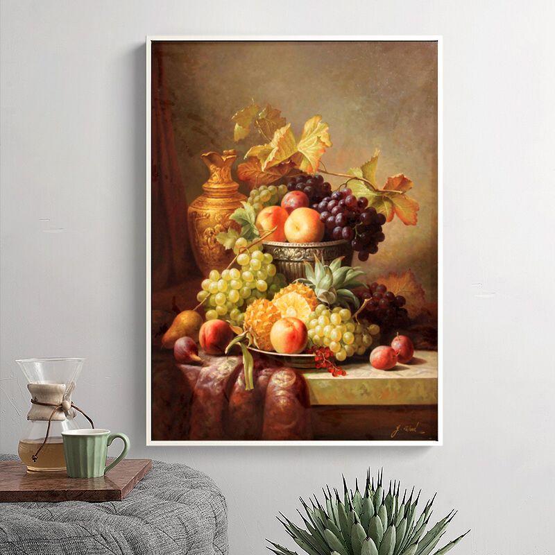 Großhandel Großhandels Kein Rahmen Klassische Traubenapfel Ananas ...