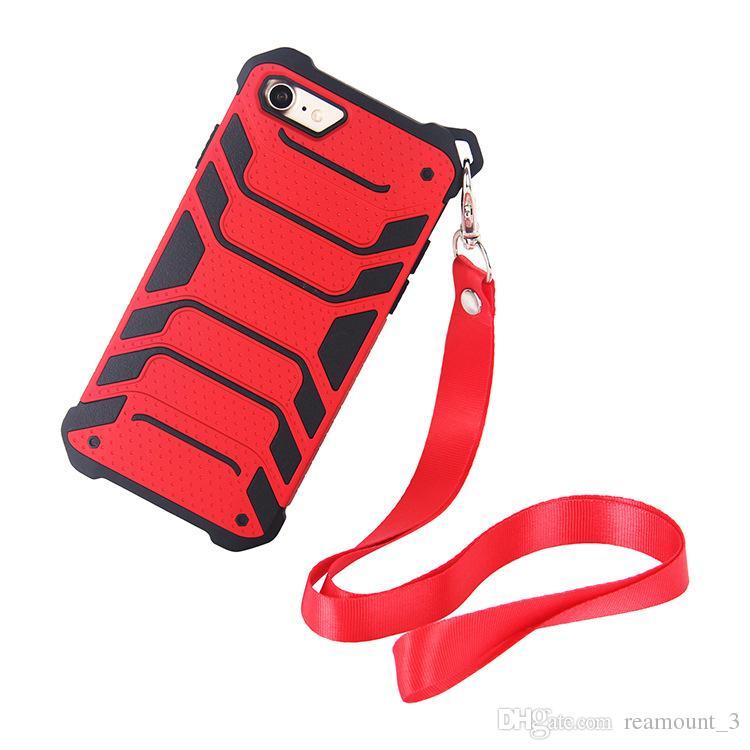 forte hybride robuste antichoc armure téléphone arrière cas pour iphone x 6 6s plus 8 7 plus dur robuste impact cover