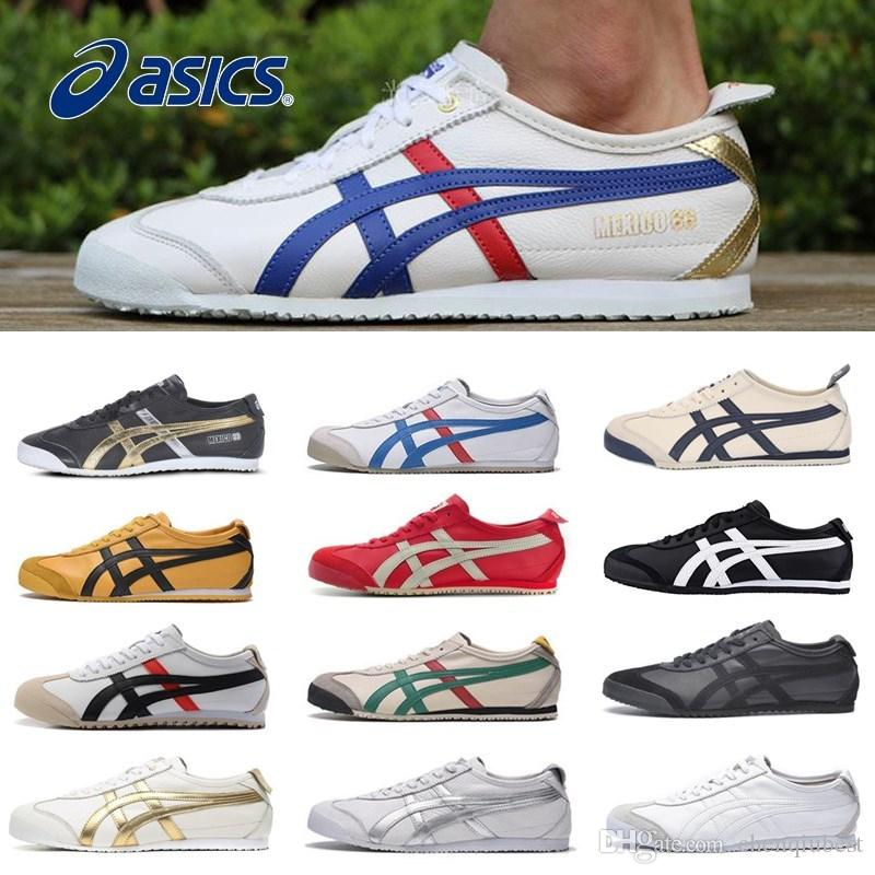 NEWAsics Tiger Bruce Lee Flat Onitsuka Running Shoes Mens And Womens  Comfortable Leather Zapatillas Athletic Outdoor Sport Sneakers UK 2019 From  Chenqiubest ... 3c11fb65d392