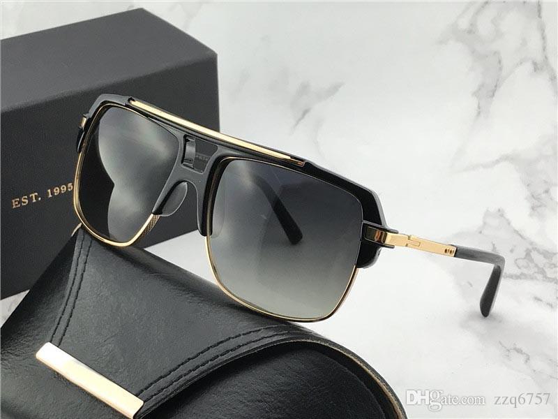 4e9a63c8af4 NEW Men Brand Designer Sunglasses Mach Four Titanium Sunglasses 24K ...