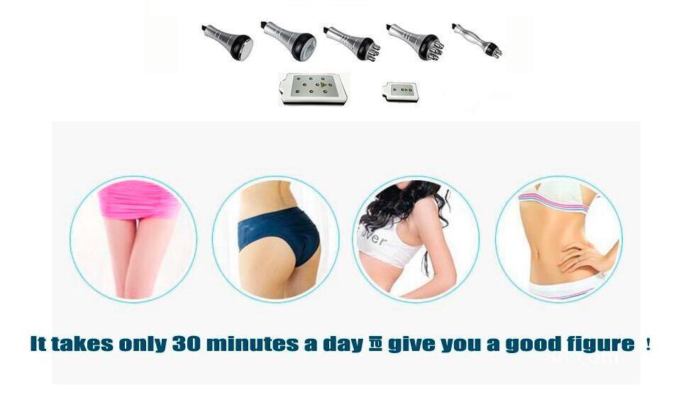 Haute qualité 40k ultrasons liposuccion cavitation 8 LLLT lipo laser amincissant la machine à vide RF soins de la peau salon spa utilisation équipement