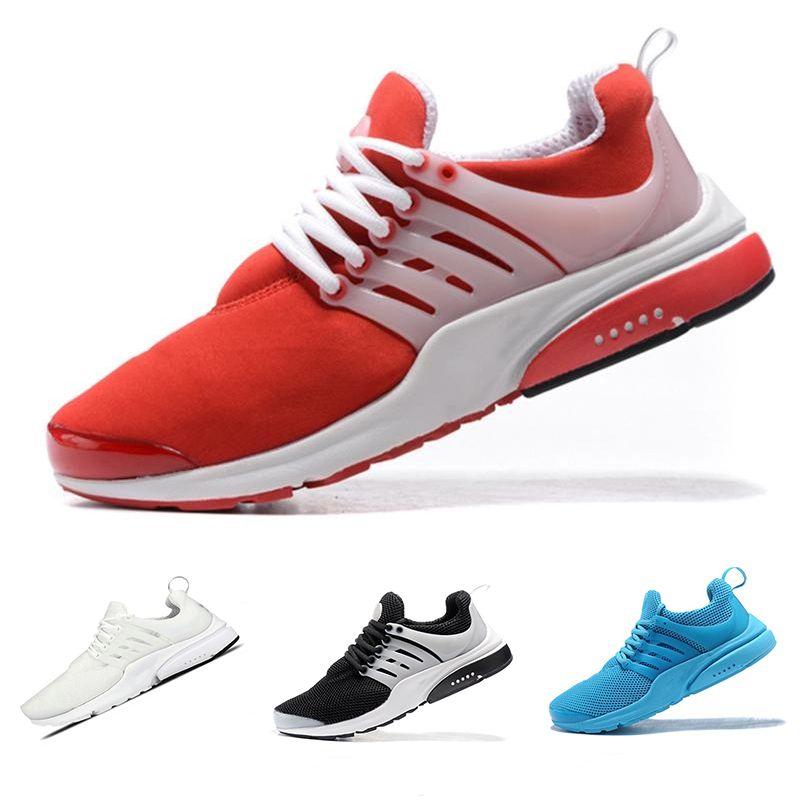sneakers for cheap f5533 23504 Großhandel Nike Air Presto 2018 TOP PRESTO 5 BR QS Breathe Schwarz Weiß  Gelb Rot Herren Schuhe Turnschuhe Damen Laufschuhe Hot Men Sportschuh  Walking ...