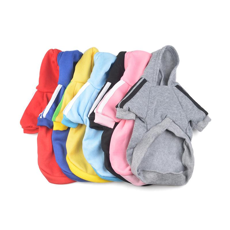 Wholesale Cheap Dog Clothes Puppy Pet Coat Dog Hoodie Sweater Pet dog Coats For Chihuahua Casual Outerwears Free DHL Shipping