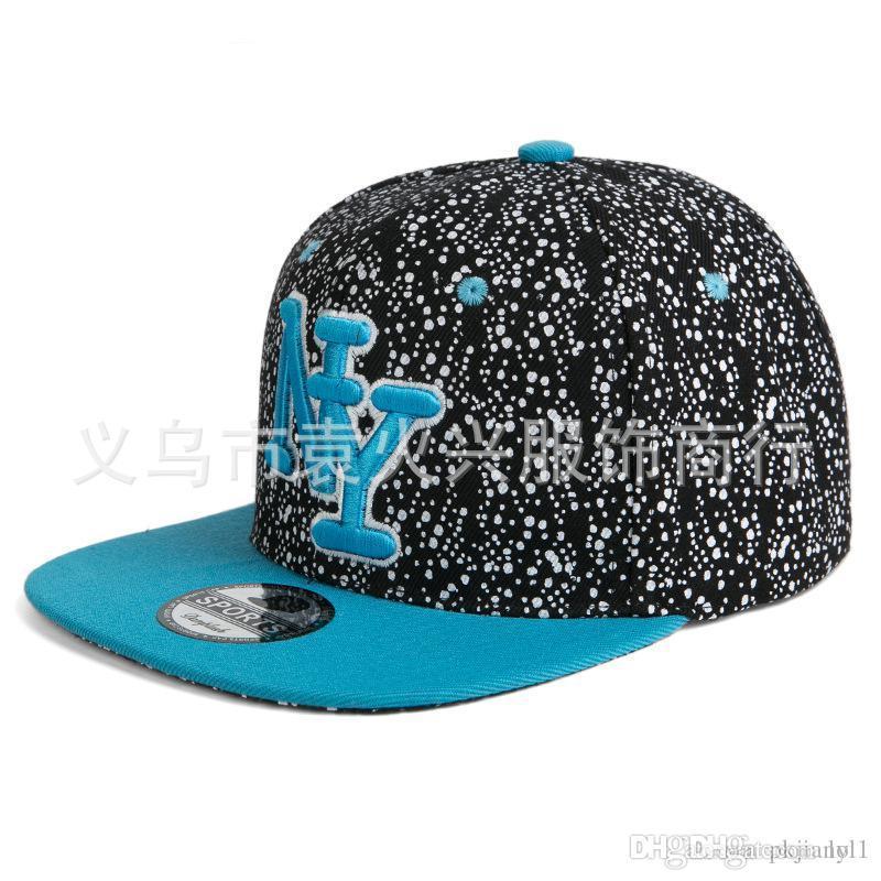 966f207268a0f The New Trend of Korean Alphabet Hip-hop Cap Baseball Cap Flat along ...