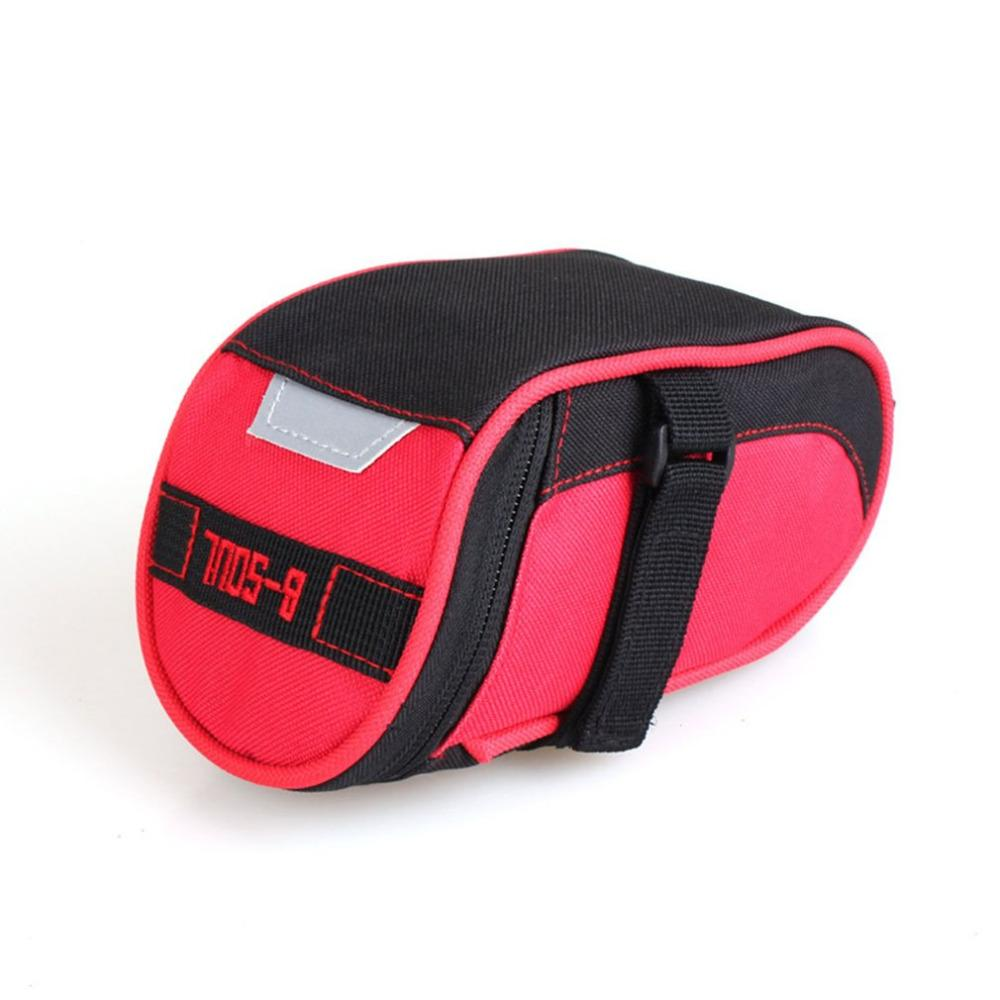 Bicycle Saddle Bag Tail Bag Small Size Nylon Waterproof Mountain Road Bike Cycling Seat Bicycle Accessories