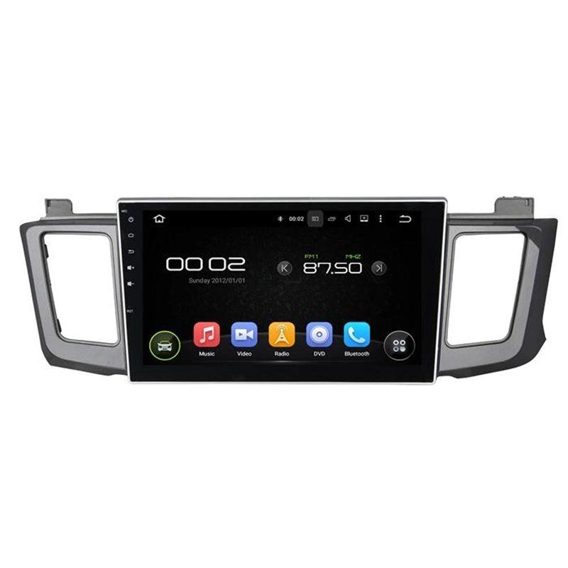 Lecteur DVD De Voiture Pour Toyota RAV4 2012-2015 10.1 pouce 4 GB RAM Octa core Andriod 8.0 avec GPS, Bluetooth