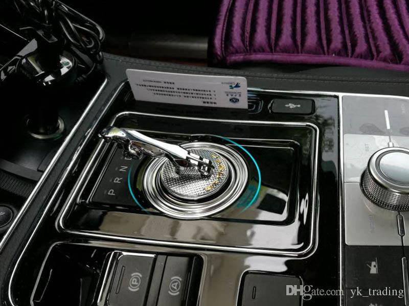 재규어 XE XF XFL XJ F-PACE 자동차 자동 기어 레버 시프트 Cutch Emblem 스티커 데칼
