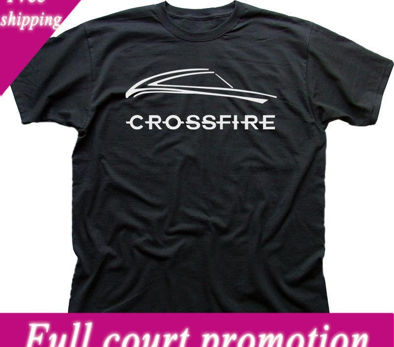 1fe1499e9b590 2018 New Brand T Shirt Men Chrysler CROSSFIRE Car V8 SRT6 Roadster Black Cotton  T Shirt 9898 Printed T Shirts Men S Streetwear Designer Mens T Shirt Really  ...