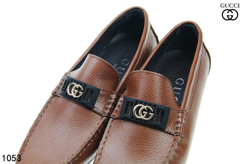 16634d41c336f Compre ¡Envíe Con La Caja! Nuevos Hombres De La Manera Mocasines  Ocasionales Zapatos De Vestir Sin Cordones De Cuero Genuino Zapatillas Para  Hombres Hechas ...