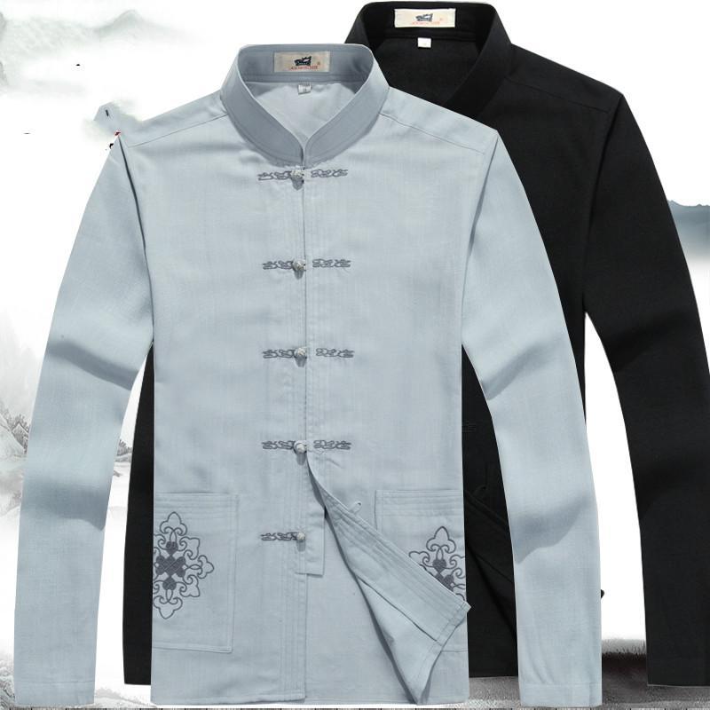 Compre Ropa Para Hombre Oriental Chino Tradicional Para Hombres Traje Chino  Tang Hombres Ropa Masculina Tradicional Diseños De Traje Tang A  39.64 Del  ... 0b660b853432