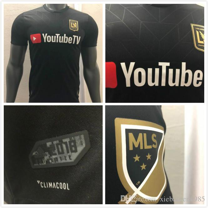 Player Version 2018 2019 LAFC Soccer Jerseys Los Angeles FC 18 19 ... 62d34eb77