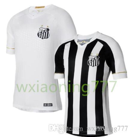 e2d036e16586c Compre 2018 2019 Santos FC Camisa De Futebol 18 19 Santos Em Casa De  Distância Gabriel RODRYGO DODO RENATO SASHA Camisas De Futebol De  Wxiaoning777