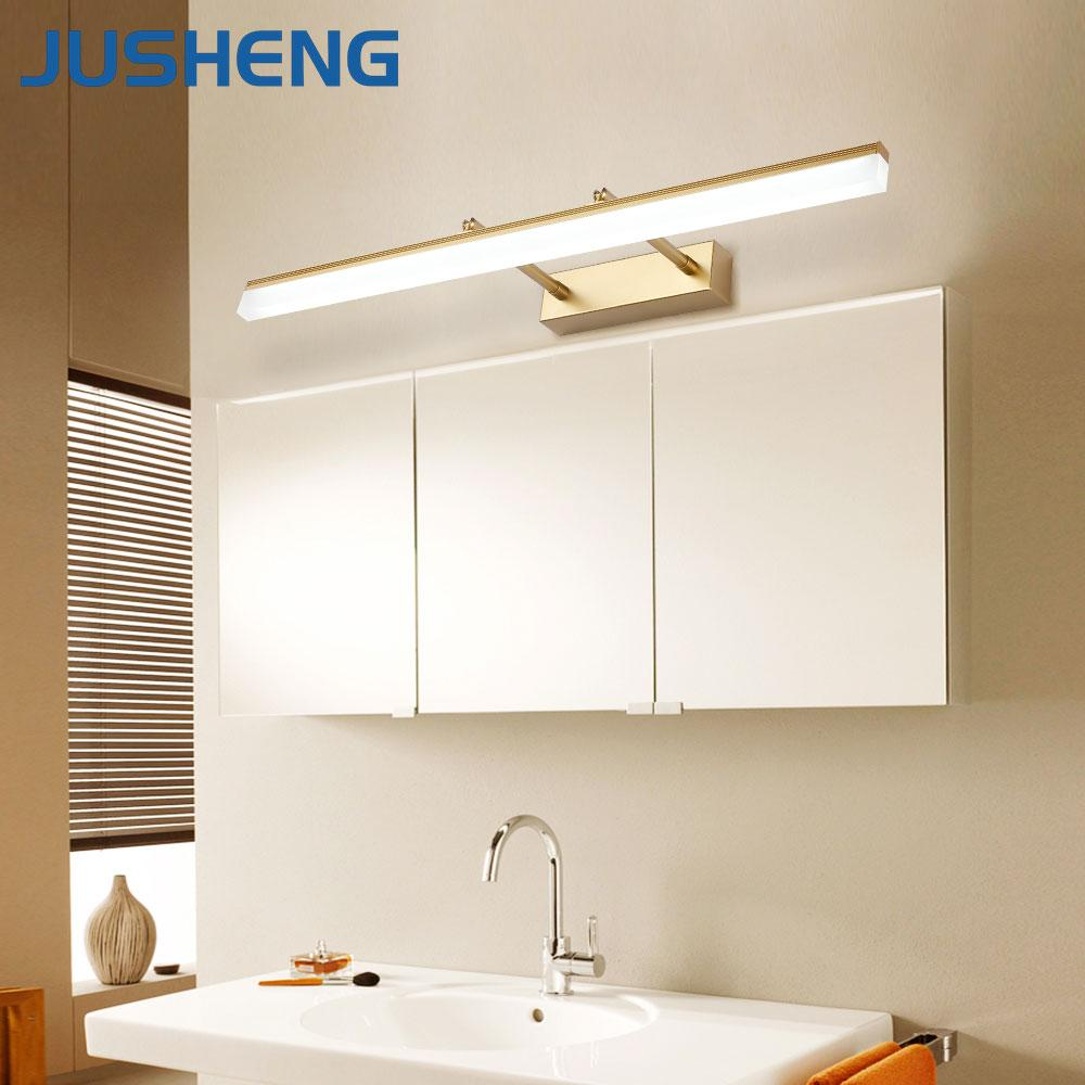 2018 Jusheng Modern Bathroom Led Wall Lamp Lights With Adjustable ...