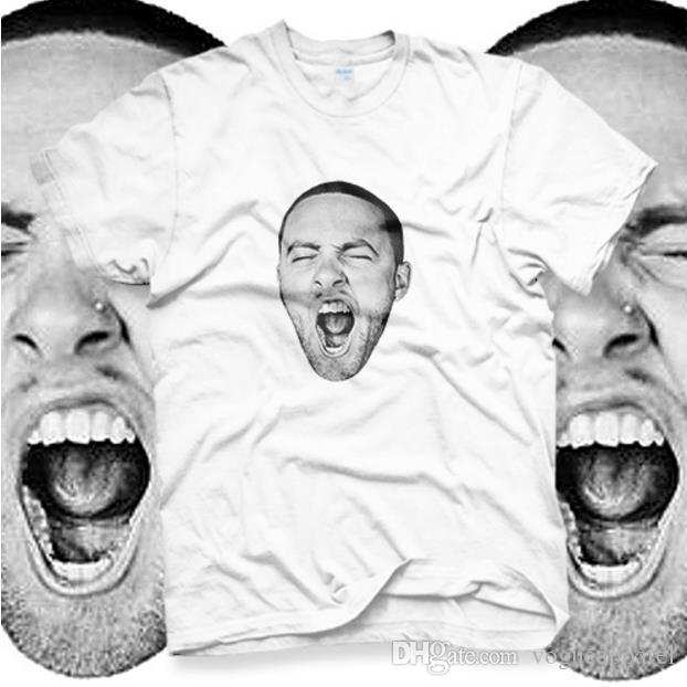 cb67cb068 Mens Designer Tshirt Mac Miller GO OD Am Rap Hip Hop Music Band CD T  ShirtWhite Tshirt Unisex Biker T Shirts Make Your Own T Shirts From  Vogueapparel, ...