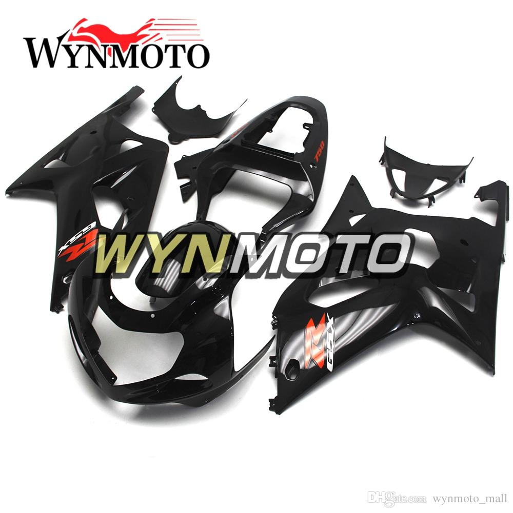 Motorcycle New Fairings For Suzuki GSXR600-750 K1 Year 2000 - 2003 Complete Fairing Kit New Cowling Motorcycle Black Hulls