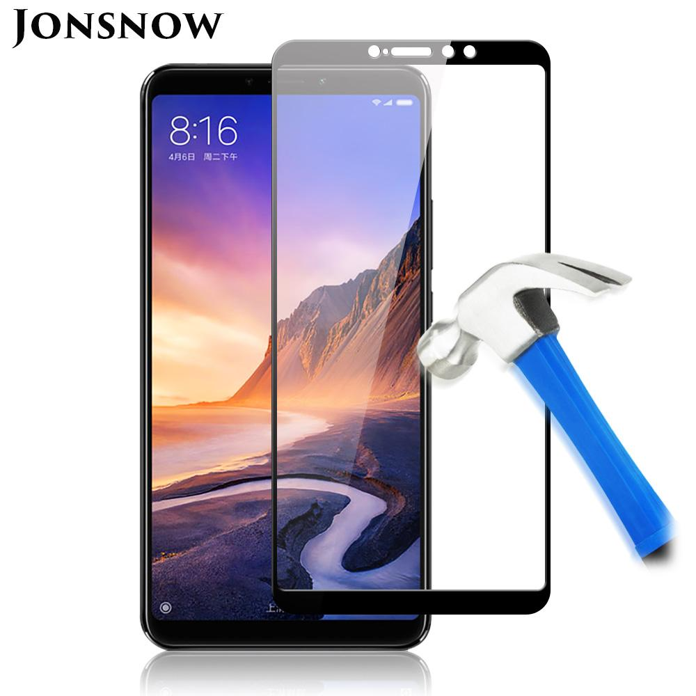 728c25b84517b Full Screen Glass For Xiaomi Mi Max 3 Tempered Glass For Xiaomi Redmi 6A  Mi  A2 Lite  8 Screen Protector Protective Film Cell Phone Screen Protectors  Clear ...