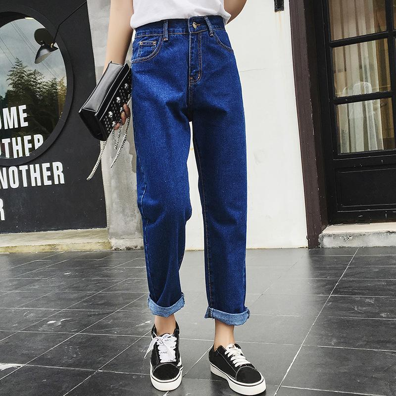 Women Waist High 2019 For Vintage Jeans Boyfriend Weweya Denim 14wwRqCPX