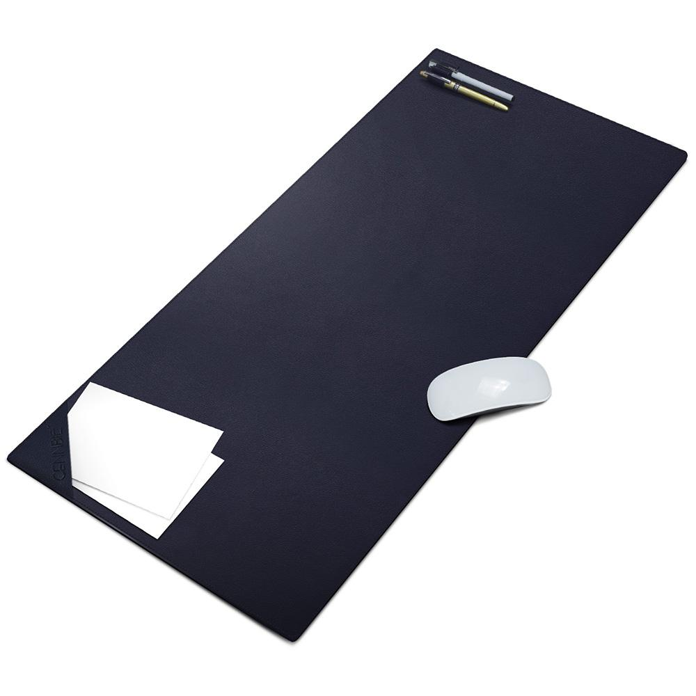 Cennbie Desk Pads Computer Artificial Leather Mat Extra Large Stylish Mouse Pad Muliti Function Mate For Office And Fel Wrist Rest Foam