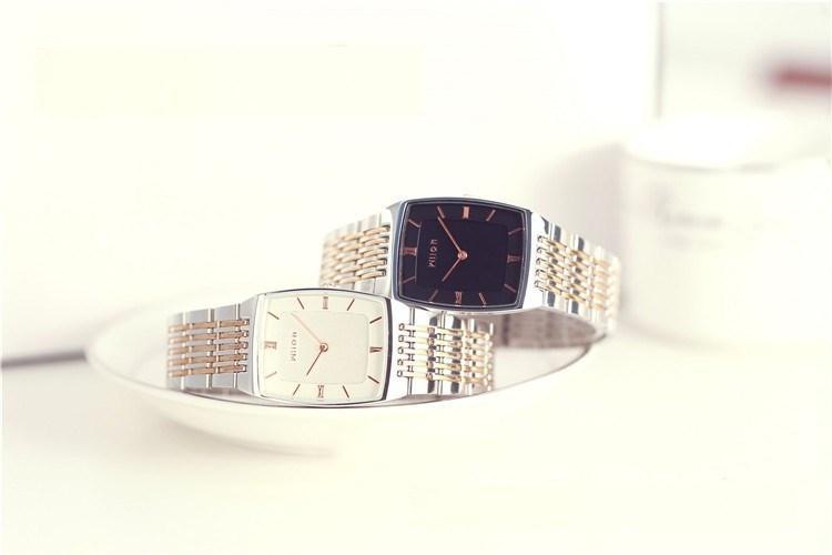 montres pour hommes montres pour hommes Montres de luxe pour femmes Original Brand WilonTop Qualité mince à la mode deux épingles or Femmes imperméables Lovers Watch