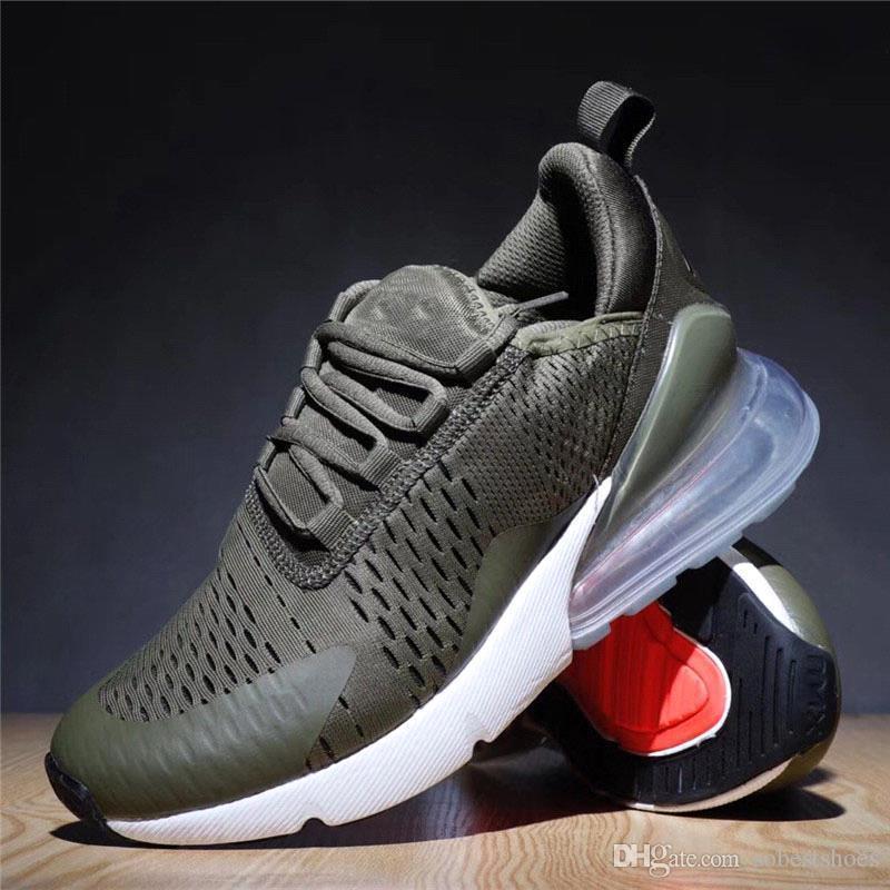 brand new b3377 6a953 Nike Air Max 270 Airmax 270 Supreme NMD Va Nuevo 270 Cojín De Aire Para  Hombres Y Mujeres Zapatos Para Correr De Alta Calidad Triple Blanco Negro  Barato ...