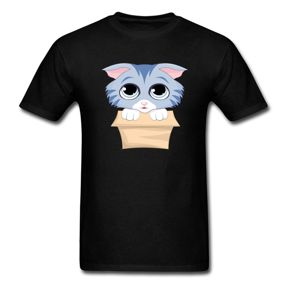 9965c2dc616 Take Me Home T Shirt Cute Kitty In A Box T Shirt Men Tshirts Cartoon Printed  Clothing O Neck Cotton Fabric Top Grey Tees Fitness Humorous Tee Shirts  Design ...