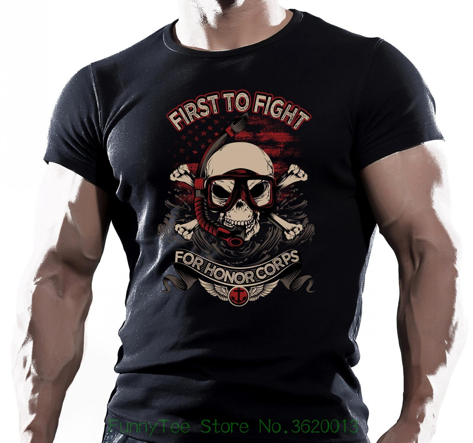 Premier Pour Fighht Us Navy Seal T Shirt Sp Cial Forces Us Marine Tshirt  Designs T Shirt Design Template From Aaa888teesstore ad3c6804bf5