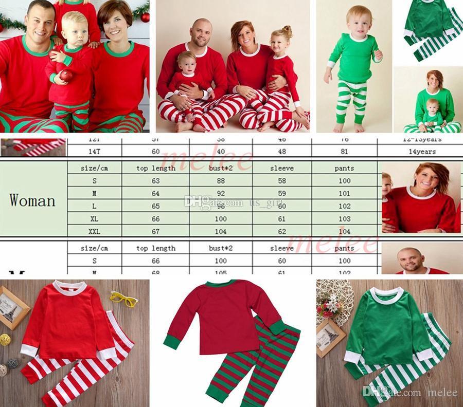 Compre Navidad Ins Ninos Adultos Rojo Verde Blanco Familia A Juego