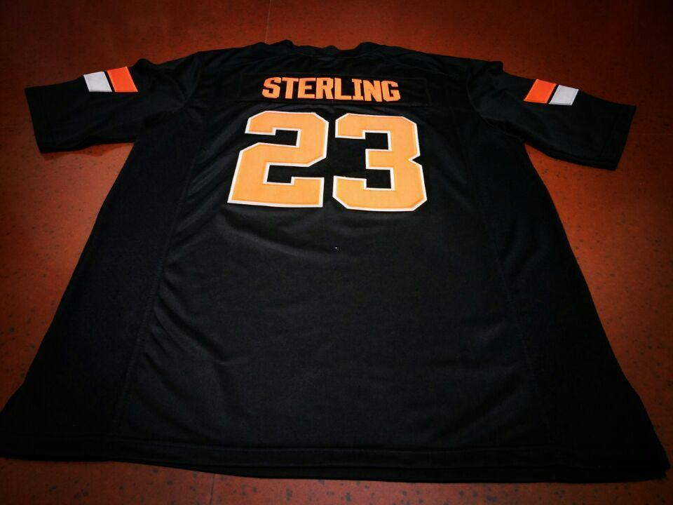 Men  23 STERLING Black Orange Oklahoma State Cowboys Alumni College Jersey  Or Custom Any Name Or Number Jersey UK 2019 From Ncaa001 97631400f