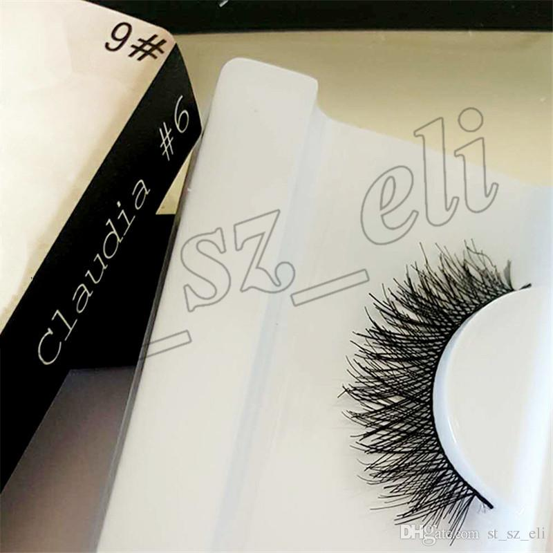 Pestañas falsas Extensiones de pestañas hechas a mano Falso Lashes Voluminous Fake Eyelashes For Eye Lashes Maquillaje 20 estilos