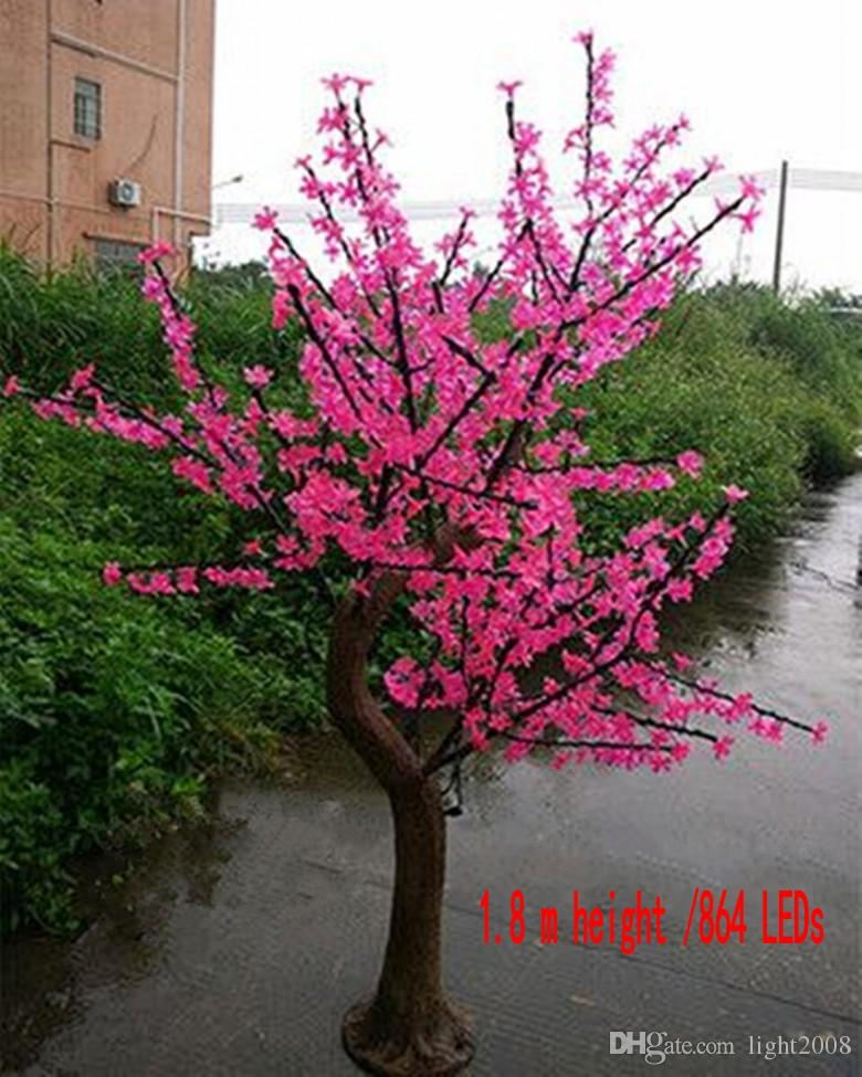 Led Cherry Blossom Tree Lamp 1 5 2 5 Meters High Simulation