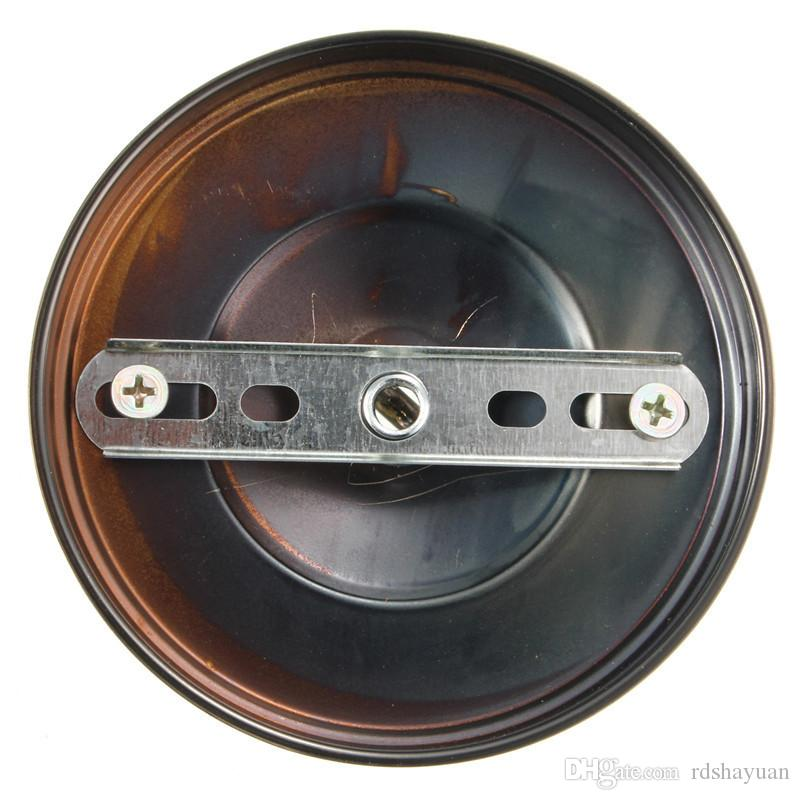 105mm 지름 레트로 램프베이스 후크 빈티지 골동품 천장 로즈 후크 플레이트 홀더 라이트 피팅 샹들리에 램프 액세서리